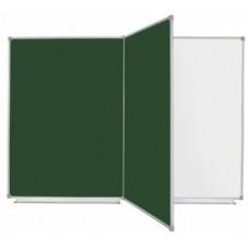 """Дошка 4-поверхнева настінна """"Стандарт"""" 1000х1500 мм, комбінована (для крейди і маркера)"""