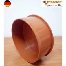 Заглушка розтрубна зовнішньої каналізації Ostendorf (KGM) 160 (арт.222620)