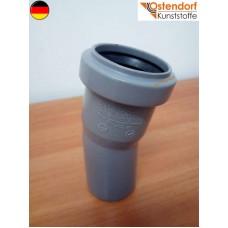 Коліно каналізаційне Ostendorf OSMA (HTB) 40*15 град. (арт.111100)