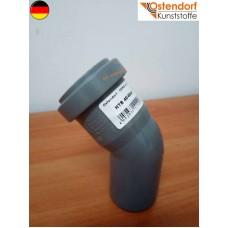 Коліно каналізаційне Ostendorf OSMA (HTB) 40*45 град. (арт.111120)
