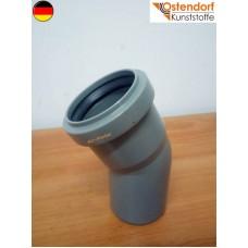 Коліно каналізаційне Ostendorf OSMA (HTB) 50*30 град. (арт.112110)