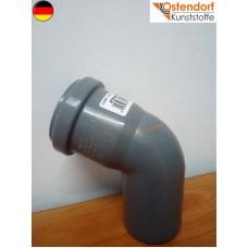 Коліно каналізаційне Ostendorf OSMA (HTB) 50*67 град. (арт.112130)