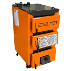 Котел на дрова (пелети, вугілля, брикети) Edelmet 17 кВт (6 мм сталь)