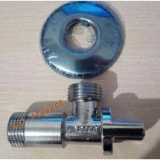 """Кран кутовий шаровий ARCO Spain 1/2""""*1/2"""" Арт. DE705 AntiLime"""