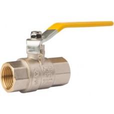 Газовий кульовий кран з ручкою FADO 15 1/2'' ВВ Арт. GR1