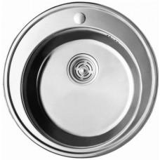 Мийка Cristal кругла врізна 510*180 Satin (Арт. 7105)