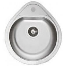 Мийка Cristal кругла врізна Крапля 440*180 Satin (Арт. 7115)