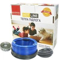 Тепла підлога ЕЛТІС HOT LINE з двожильним нагрівальним кабелем 130 м ДТ-1550, 9,7-13,0 м2