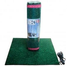 Гріючий килимок ЕЛТІС HOT LINE 50 Вт, 55*55, 3м шнур, темно-зелений