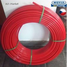 Труба шитий поліетилен WAVIN РЕ-Хс/EVOH 16*2 мм (200м), арт. PEXTRK016X
