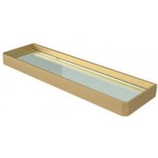 Полиця скляна в ванну кімнату Аліне Голд (Голандія)