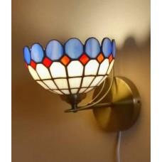 Вітражний настінний світильник Тіффані Бра ручної роботи